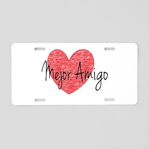 best friend- Spanish Aluminum License Plate