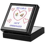 No Child Left Unhugged Keepsake Box