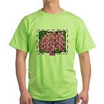 Flowering bag Green T-Shirt