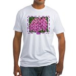 Flowering bag Fitted T-Shirt