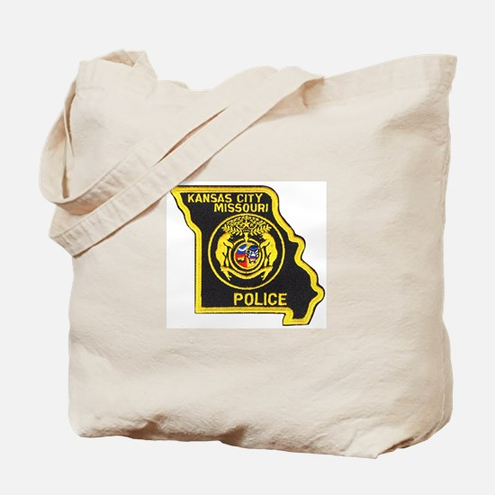 Kansas City Police Tote Bag