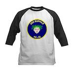 USS Euryale (AS 22) Kids Baseball Jersey