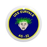 USS Euryale (AS 22) Ornament (Round)