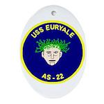 USS Euryale (AS 22) Oval Ornament