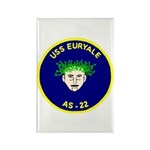 USS Euryale (AS 22) Rectangle Magnet (10 pack)
