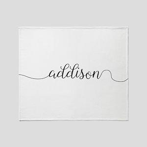 Addison Throw Blanket