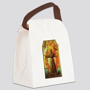 Ecstasy of Saint Francis Canvas Lunch Bag