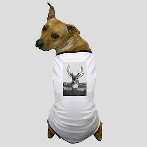 Whitetail Deer D Dog T-Shirt