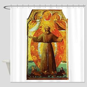 Ecstasy of Saint Francis Shower Curtain