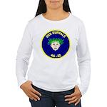USS Euryale (AS 22) Women's Long Sleeve T-Shirt