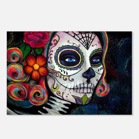 Cute Sugar skull Postcards (Package of 8)