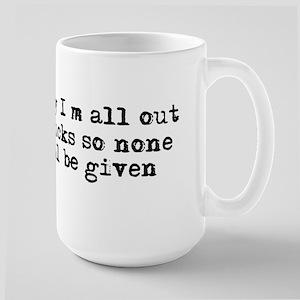 No fucks were given Mugs