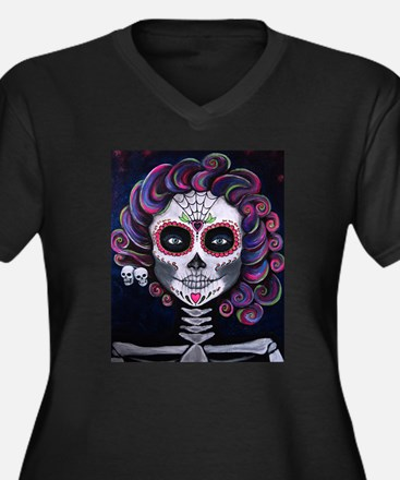 Sugar Skull Candy 2 Plus Size T-Shirt