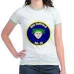 USS Euryale (AS 22) Jr. Ringer T-Shirt