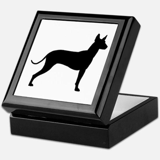 Xoloitzcuintli Profile Keepsake Box