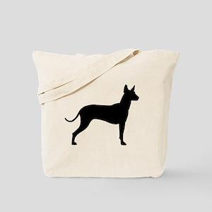 Xoloitzcuintli Profile Tote Bag