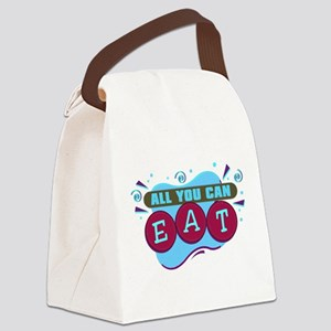 allyoucaneat Canvas Lunch Bag