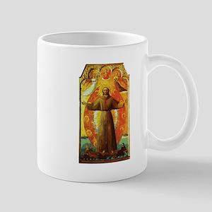 Ecstasy of Saint Francis Mugs