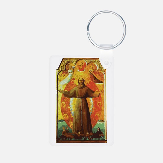Ecstasy of Saint Francis Keychains