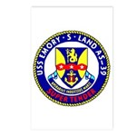 USS Emory S. Land (AS 39) Postcards (Package of 8)