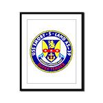 USS Emory S. Land (AS 39) Framed Panel Print