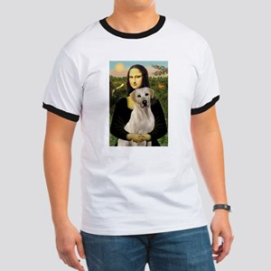 Mona Lisa & Yellow Lab #2 Ringer T