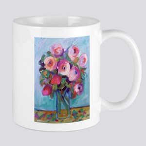 Impressionist Roses Mugs