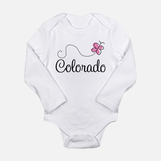 Cute State of Long Sleeve Infant Bodysuit