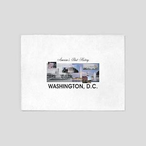 Washington Americasbesthistory.com 5'x7'Area Rug