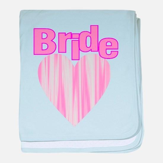 bacheorette party team bride baby blanket