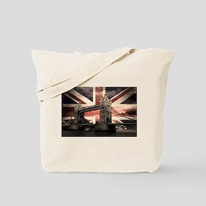 Union Jack London Tote Bag