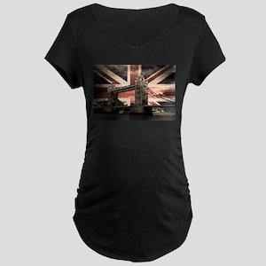 Union Jack London Maternity T-Shirt