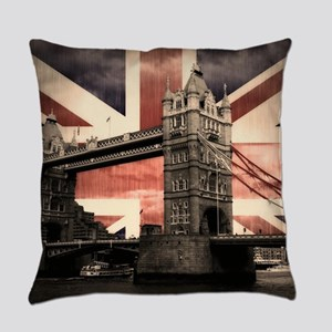 Union Jack London Everyday Pillow