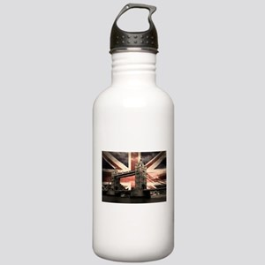 Union Jack London Stainless Water Bottle 1.0L