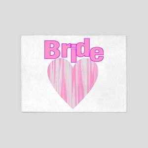 bacheorette party team bride 5'x7'Area Rug