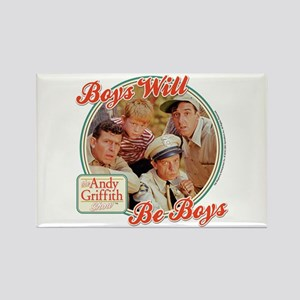 Boys Will Be Boys Rectangle Magnet