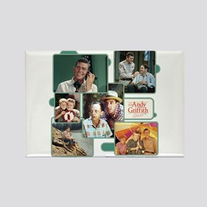 Andy Griffith Collage Rectangle Magnet