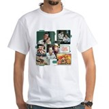 Tv Mens Classic White T-Shirts