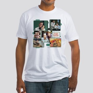 Andy Griffith Collage Fitted T-Shirt