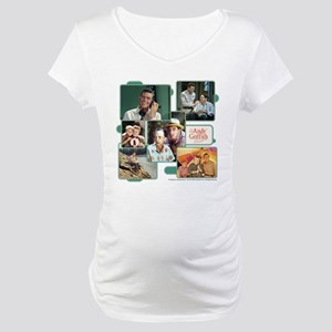 Andy Griffith Collage Maternity T-Shirt
