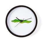 Green Moray Eel Wall Clock