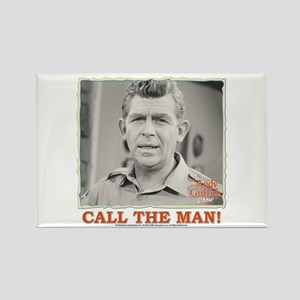 Call The Man! Rectangle Magnet