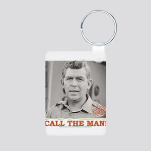 Call The Man! Aluminum Photo Keychain
