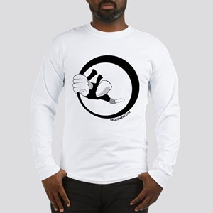 hanging rock climber Long Sleeve T-Shirt
