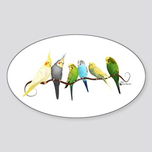 Parakeets & Cockatiels Sticker