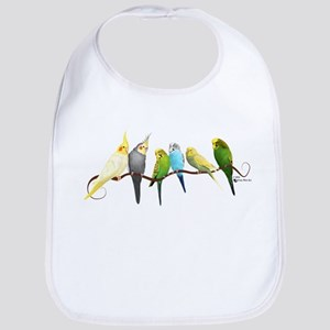 Parakeets & Cockatiels Bib
