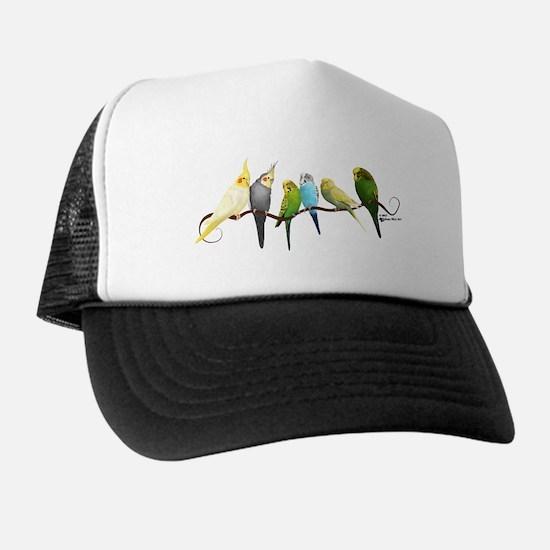 Parakeets & Cockatiels Trucker Hat