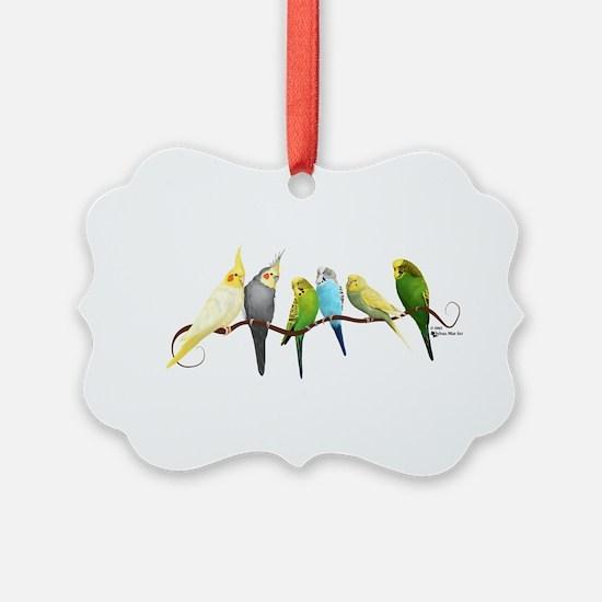 Parakeets & Cockatiels Ornament