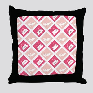 SHOES-N-BAGS Throw Pillow
