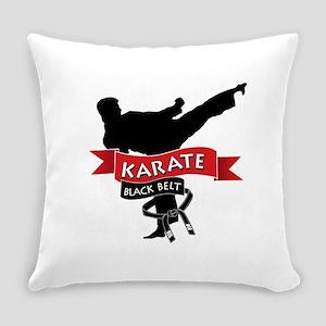 Karate Black Belt Everyday Pillow
